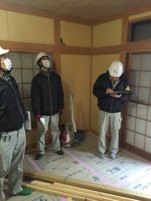 三郷市N様邸内部改修中 (2)